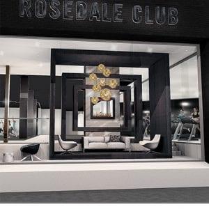 rosedale club gym exterior